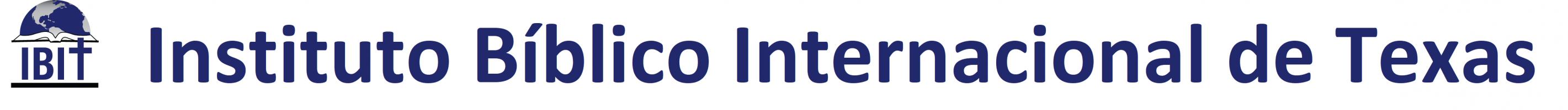 IBIT en línea - Cursos Bíblicos